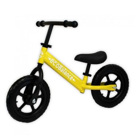 Беговел EcoBalance Race для детей от 2 лет желтый