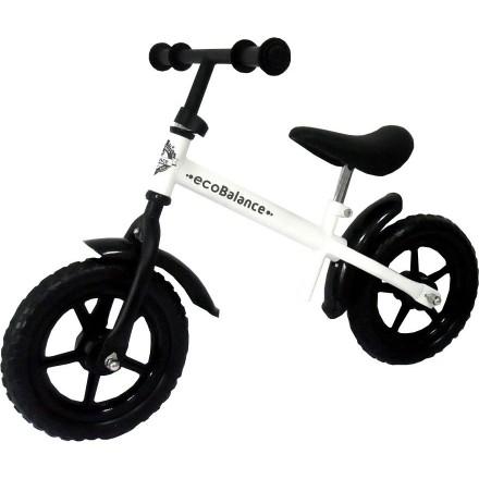 """Беговел EcoBalance Line для детей от 3 лет белый, колеса 12"""" с брызговиками"""