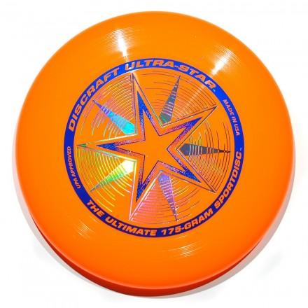 Летающий диск Ultra-Star оранжевый