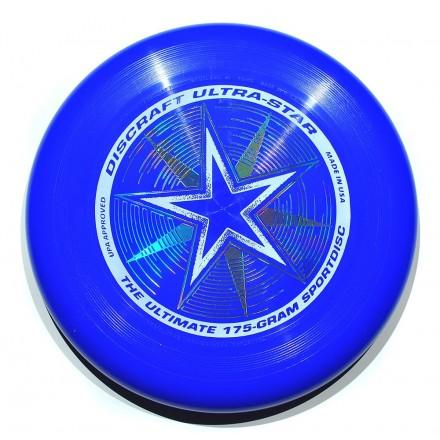 Летающий диск Ultra-Star синий
