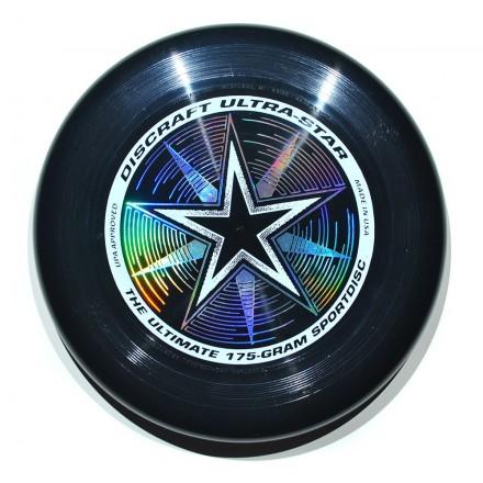 Летающий диск Ultra-Star черный