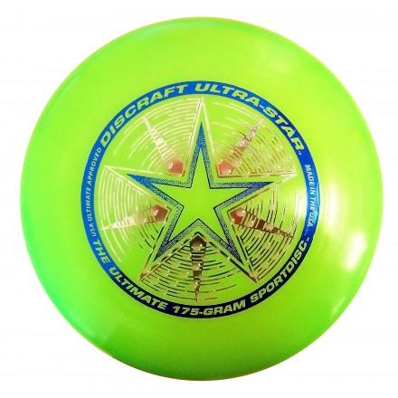 Летающий диск Ultra-Star зеленый