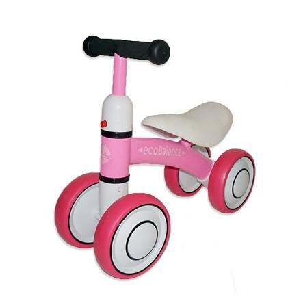 Беговел EcoBalance Baby розовый