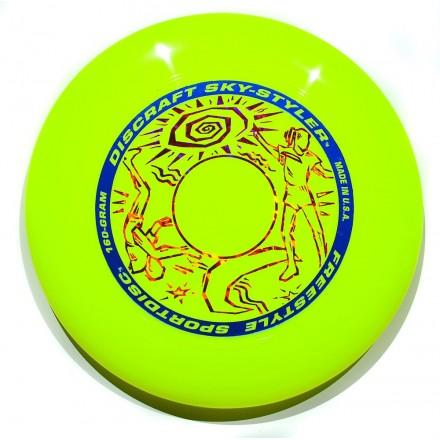 Диск Фрисби Discraft Sky-Styler желтый (160 гр.)