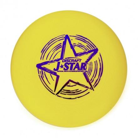 Диск Фрисби Discraft J-Star желтый (145 гр.)