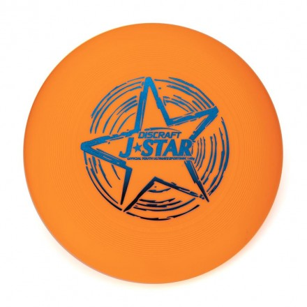 Диск Фрисби Discraft J-Star оранжевый (145 гр.)