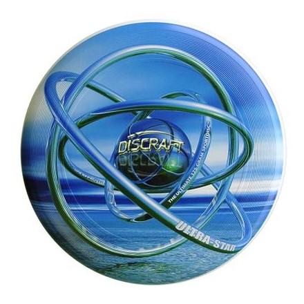 Диск Фрисби Discraft Ultra-Star полноцветный Лазурная Сфера (175 гр.)