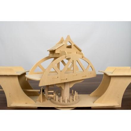 Поворотный мост